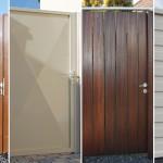 Türen in Holz oder Stahl
